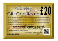 Equipment Gift Vouchers
